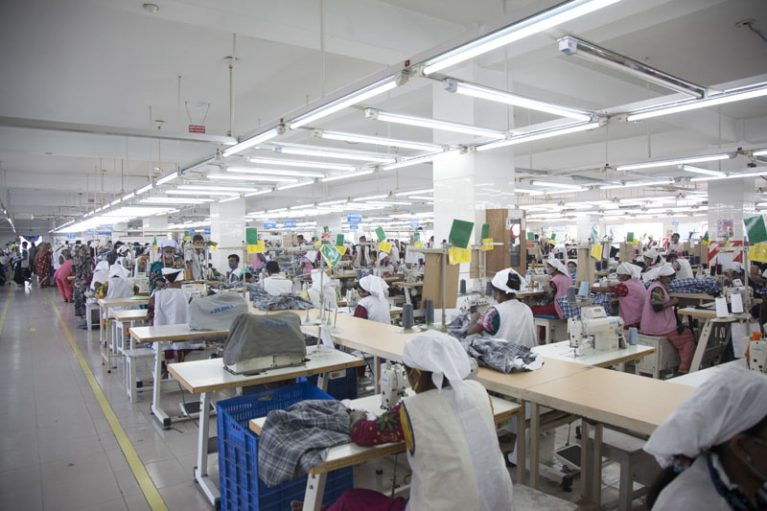 plan for setting up a garment factory